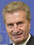 Günther Oettinger EU-Kommissar für Digitale Wirtschaft und Gesellschaf